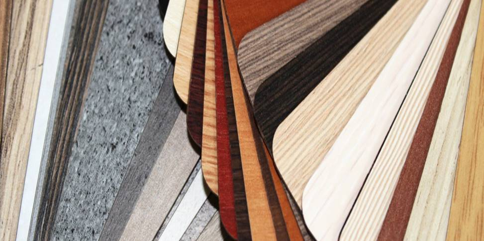 samples of laminate colors and styles