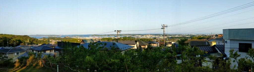 伊保石公園の眺め