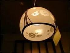 古い電燈シェードのイメージ