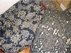 藍染や絣の古布のイメージ