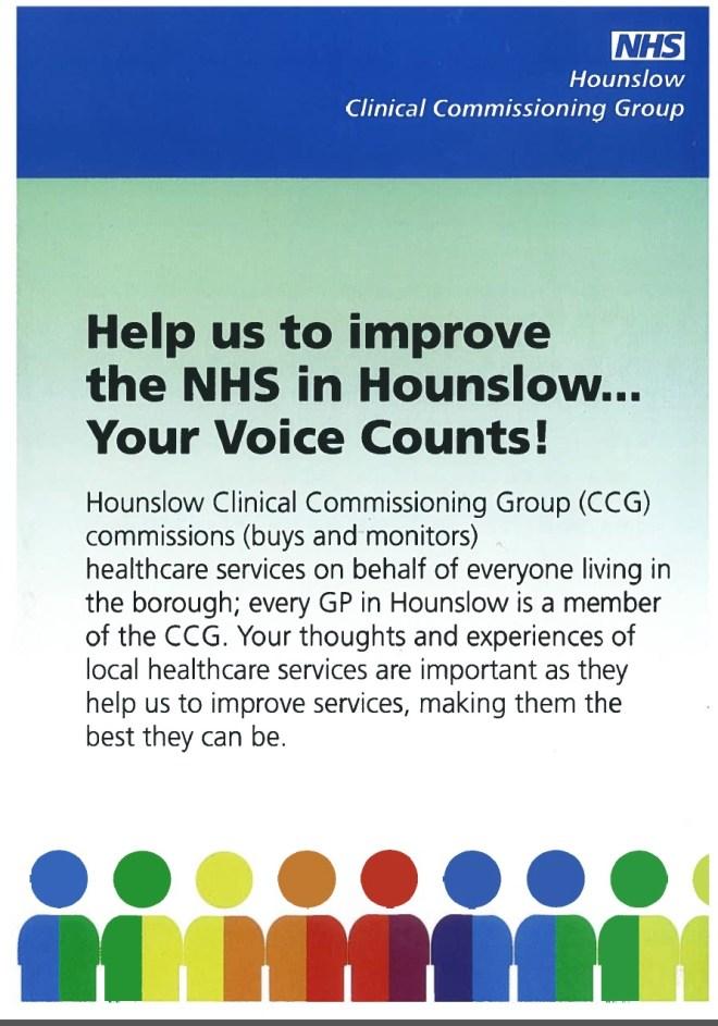 Hounslow CCG PPG - Image