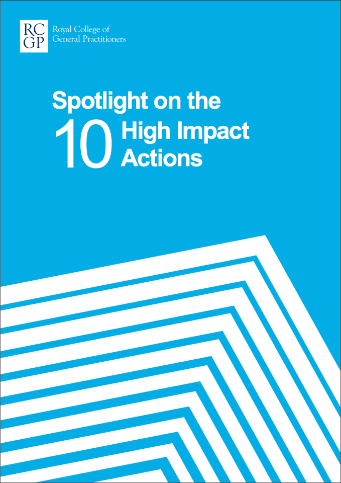 Spotlight on 10 High Impact Actions