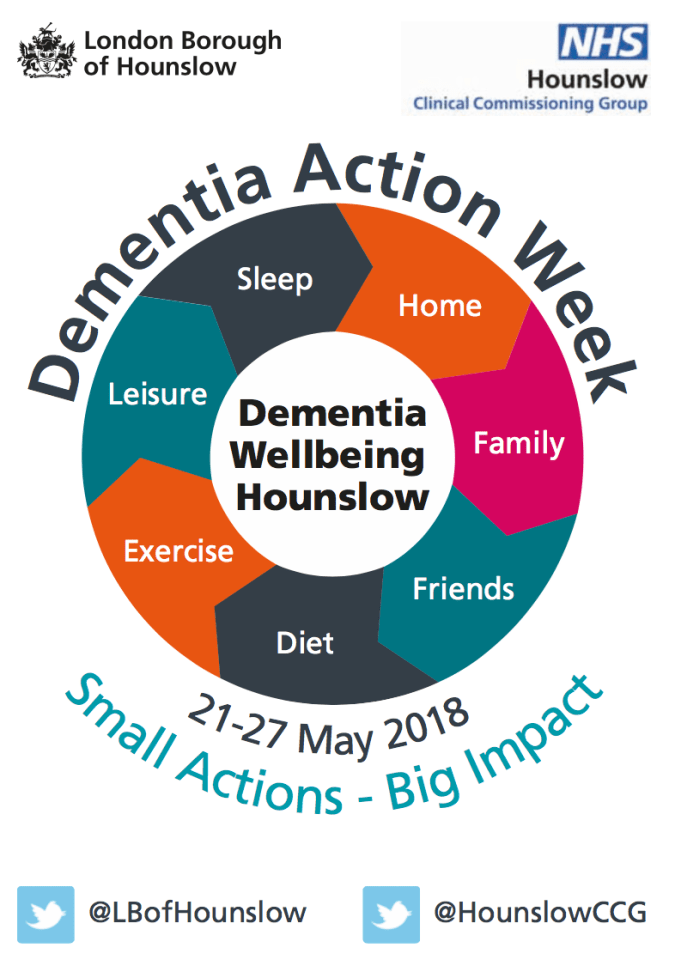 Dementia Action Week Poster
