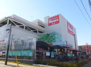 2014年12月にオープンしたばかりの大型ホームセンター「島忠ホームズ港北高田店」