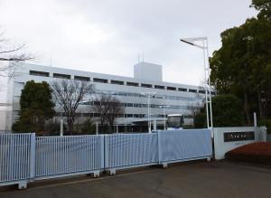 損保ジャパン日本興亜の「日吉センター」、最終日となった2016年2月15日には既に人の姿はなくひっそりとしていた