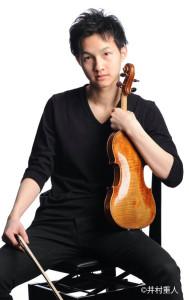 ヴァイオリン・ソロは大江馨さん。第82回日本音楽コンクールでは、全部門の入賞者の中から最も印象的な演奏に対し贈られる『増沢賞』も受賞。ドイツから「里帰り」となる大江さんのヴァイオリンが、日吉の丘にどのように響くのかに注目が集まる(写真=©井村重人・日吉の丘フィル提供)