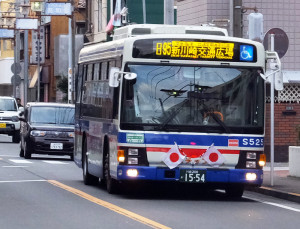 日95系統など共同運行便は臨港バス便のみ運休となる