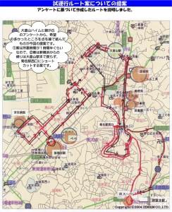 現在のルートを定期運行するまでには、新横浜エリアを含めるなどさまざまな試行錯誤があったという