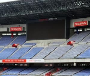 ラグビーW杯や五輪の期間中はNISSANの文字や広告はすべて隠される予定