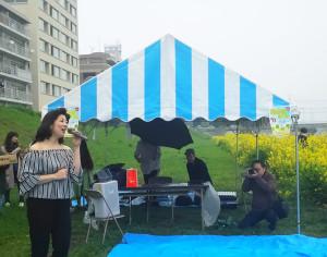 大トリは綱島発祥の「こうほく第九」でもおなじみの北澤幸さんの美しい歌声と参加者の合唱