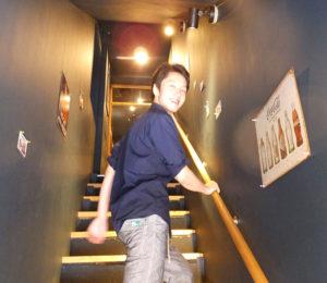 店は2階にある。「隠れ家的」雰囲気も人気