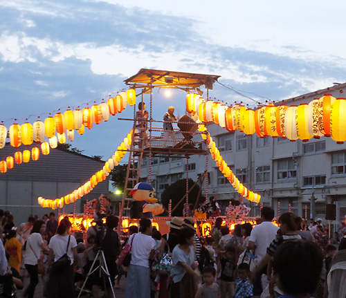 今週末7/21(土)は高田・北綱島・綱島東5・樽町で「盆踊り」や「夏祭り」