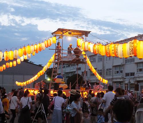 今週末7/21(土)は高田・北綱島・綱島東5・樽町で「盆踊り」や「夏祭り」