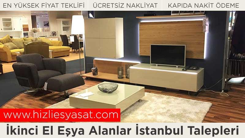 İkinci El Eşya Alanlar İstanbul Talepleri - Gerçek Değerinde Fiyat Teklifi - Ücretsiz Nakliye - Kapıda Nakit Ödeme