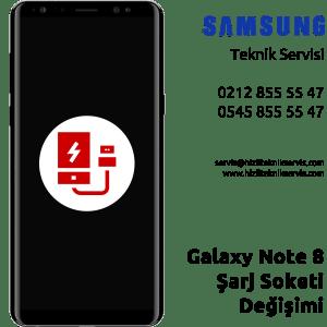Samsung Galaxy Note 8 Şarj Soketi Değişimi