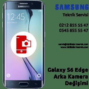 Samsung Galaxy S6 Edge Arka Kamera Değişimi