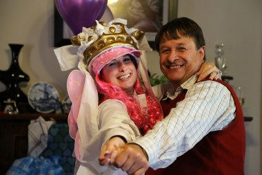 Bride to Be and Father
