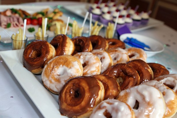 Chocolate and Vanilla Donuts