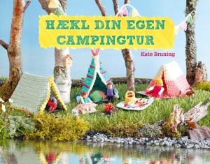 Ny bog med hyggelige hækleopskrifter til din helt egen campingtur. PRfoto:  TURBINE forlaget.