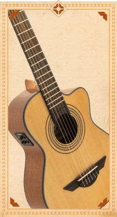 H. Jimenez Electric Requinto