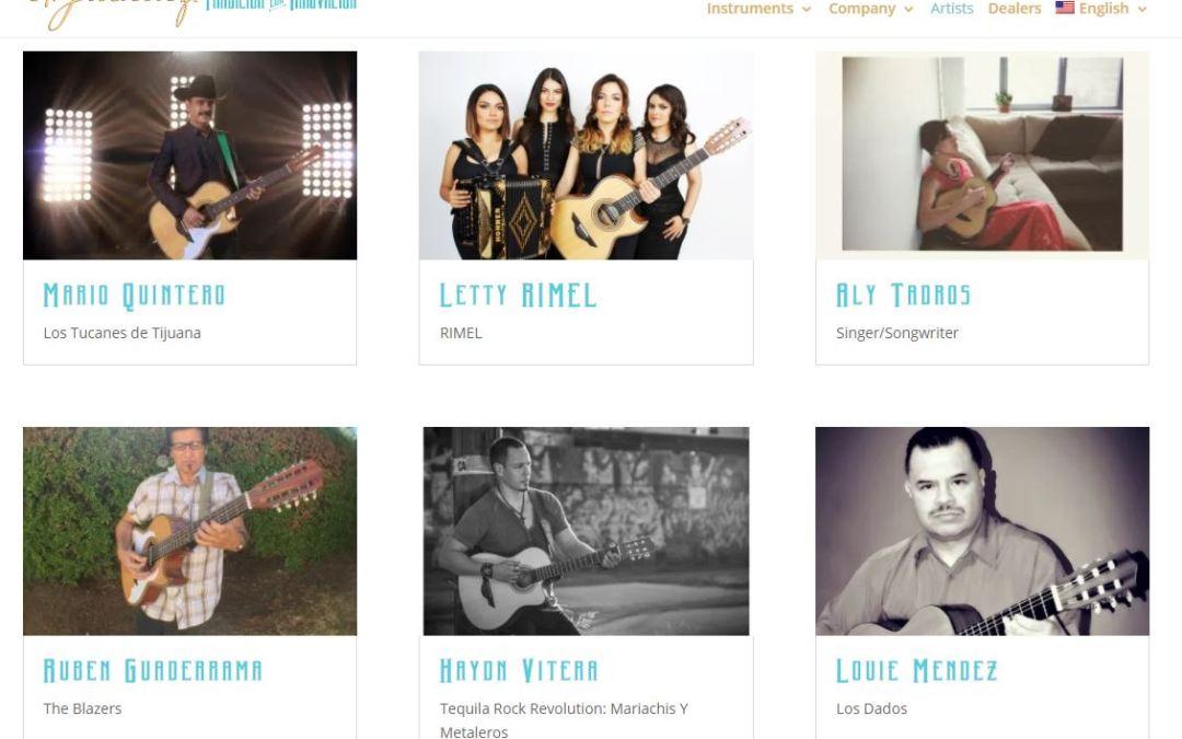 H. Jimenez announces Official Family of Artists