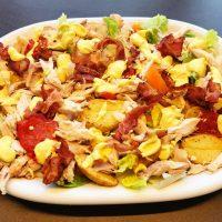 Club sandwich salat (brød ikke nødvendigt)