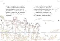 Skisse til første oppslag i boka
