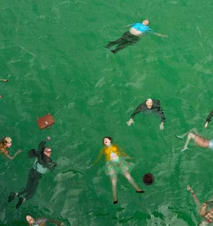 Alex Prager, 314pm Pacific Ocean, 2012, Courtesy Lehmann Maupin New York and Hong Kong