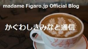 フィガロジャポンのオフィシャルブロガーです♪(月3~4回更新)
