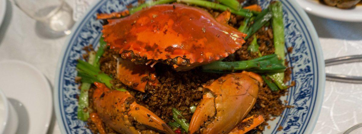 いつも賑やかな海鮮料理店、越華會海鮮館の新店を紹介しました