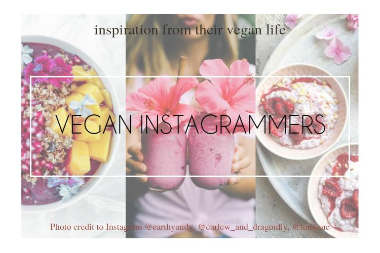 跟著這些Instagrammer獲得vegan生活靈感