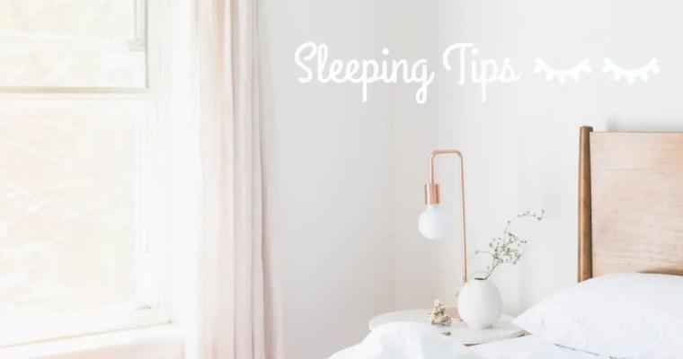 【睡前做好這4步,完美睡眠沒難度!】