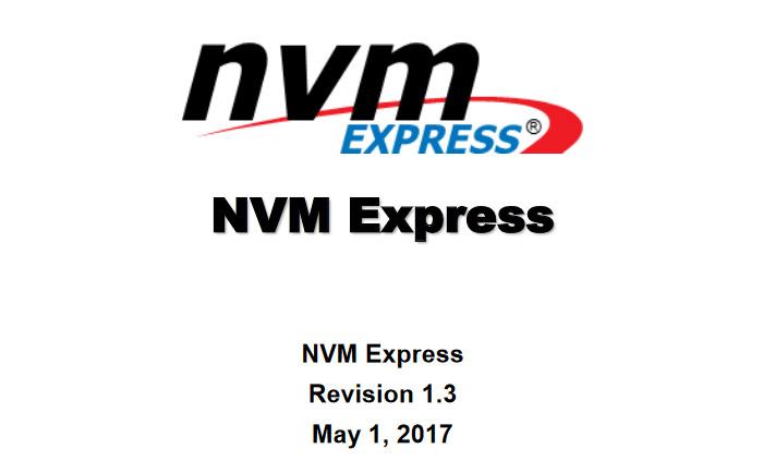 NVMe 1.3標準發布, 引入八大新功能