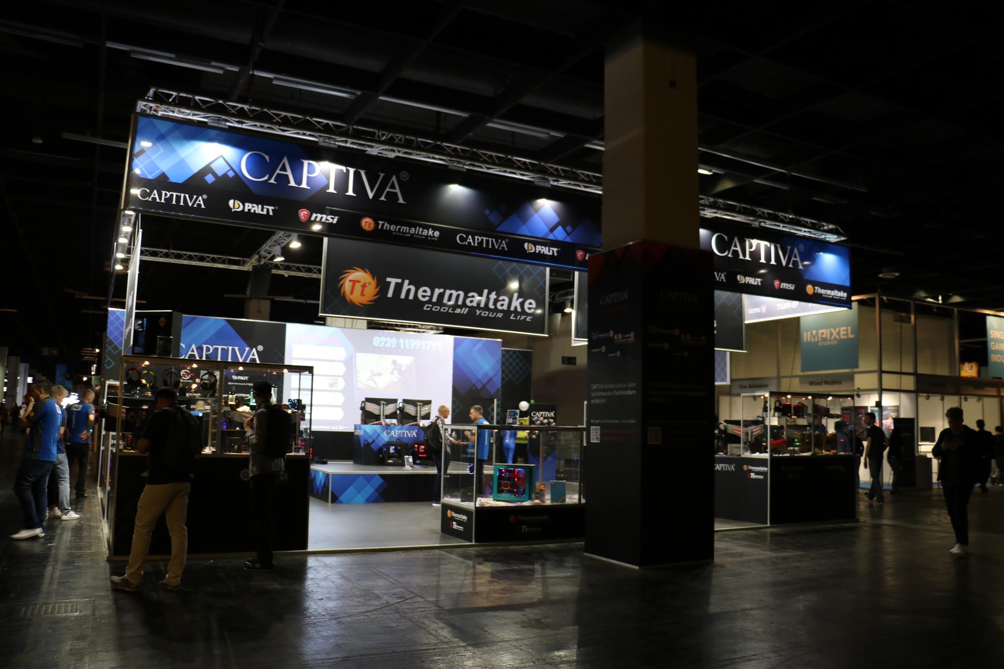 曜越參加Gamescom科隆國際電競大展_攤位照_1