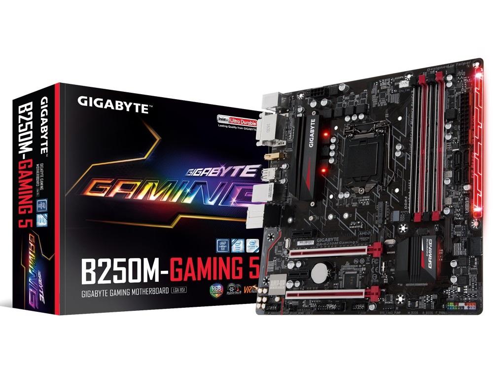 Gigabyte B250M Gaming 5 RGB主機版