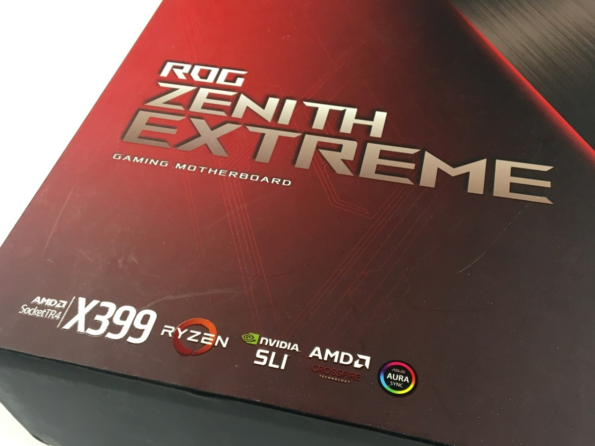 高性能X399極致平台,ASUS Zenith Extreme開箱