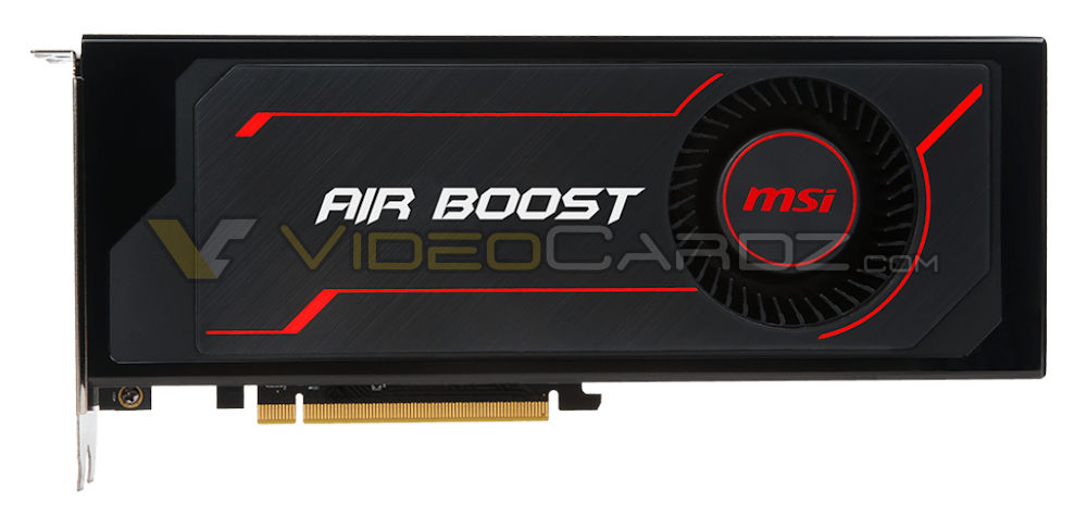 MSI RX Vega 64 Air Boost 曝光