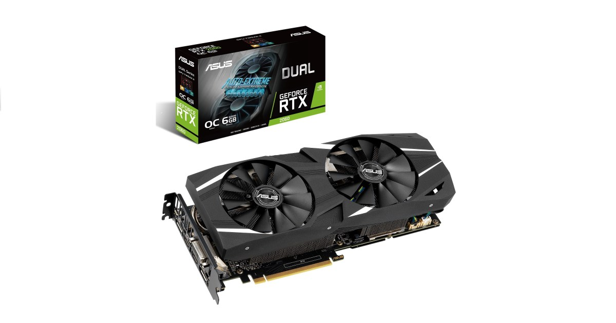 ROG Strix、ASUS Dual /Turbo GeForce RTX 2060電競顯示卡強悍上市