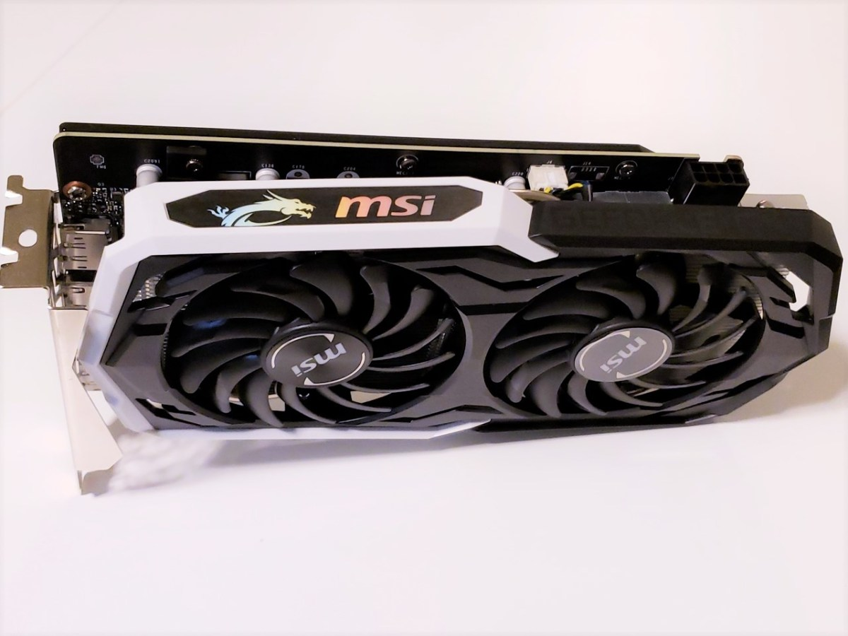 MSI GeForce GTX 1660 Ti ARMOR OC (6GB GDDR6) 顯示卡評測