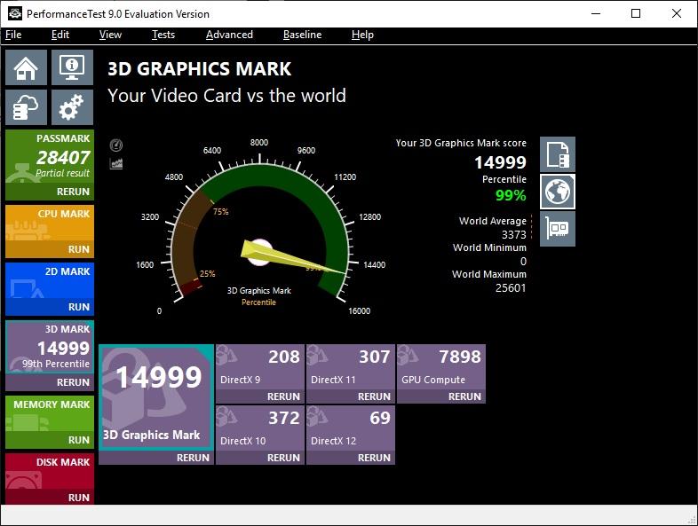 Passmark 3D Graphics