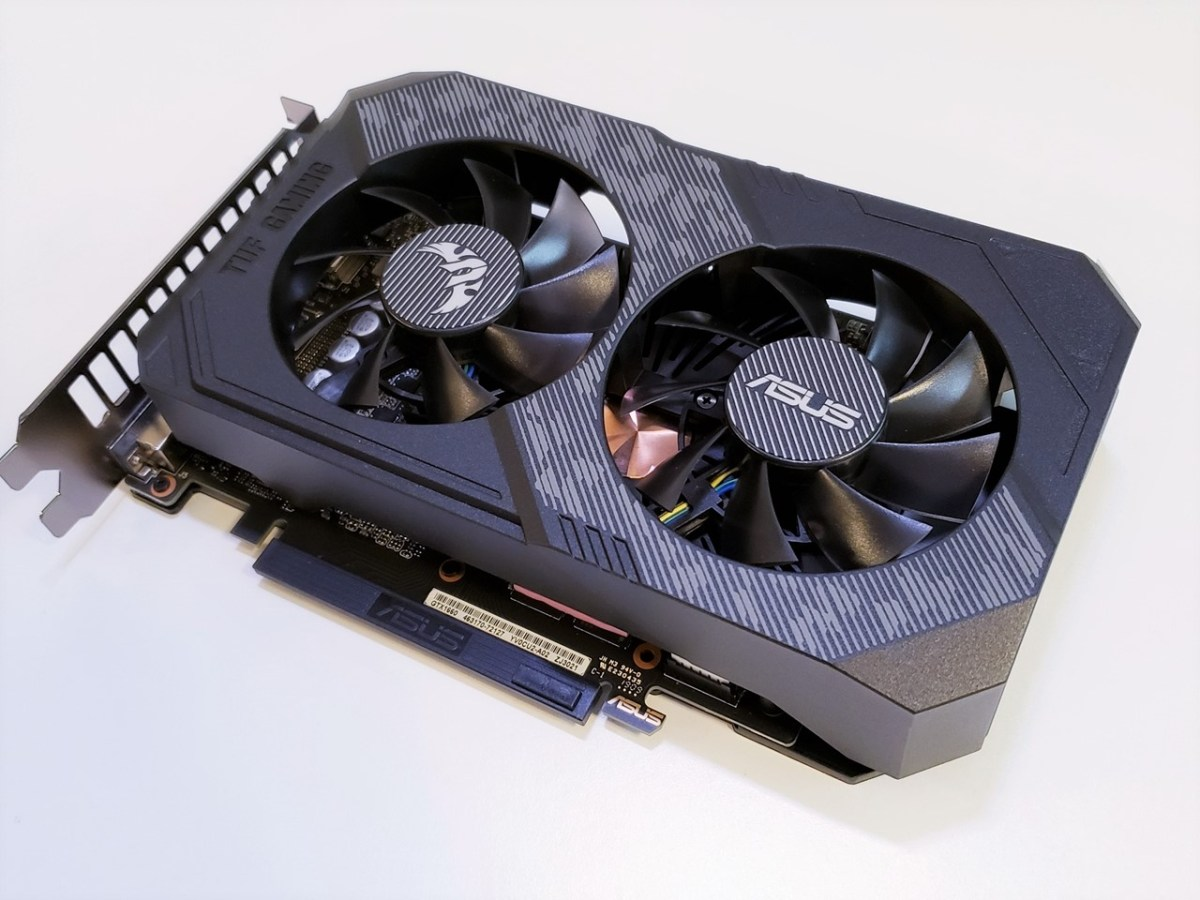 ASUS TUF Gaming GeForce® GTX 1660 (6GB GDDR5) OC版中低階顯示卡評測