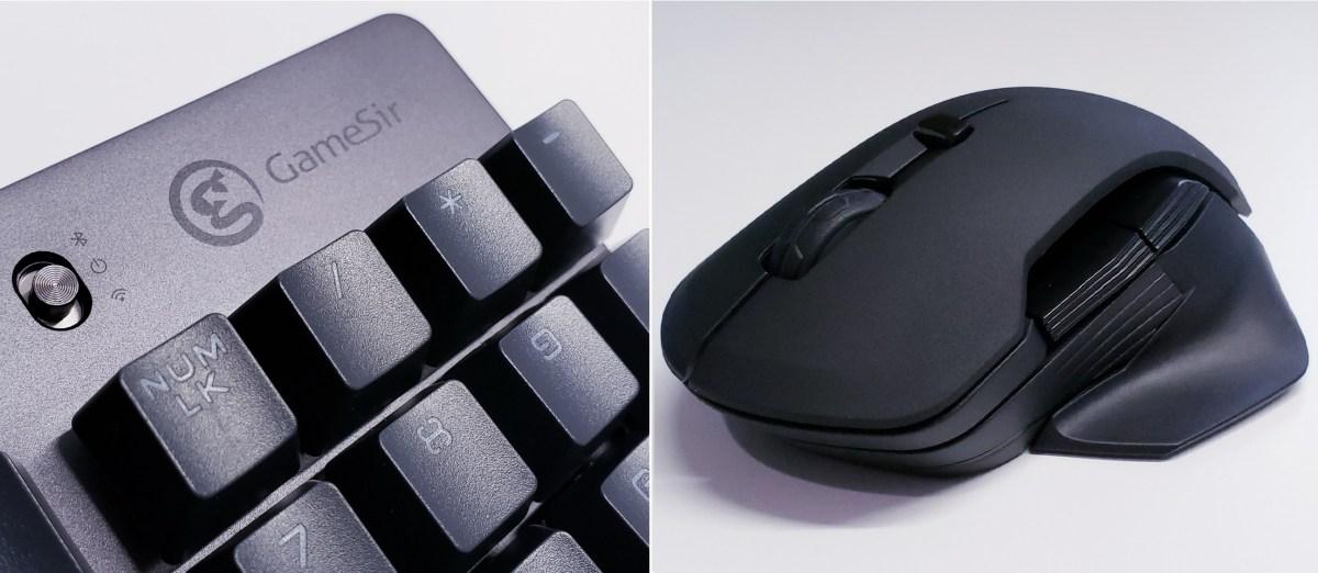 GameSir(蓋世小雞)的 GM300 無線電競滑鼠 + GK300 無線電競 TTC 青軸鍵盤簡單測試