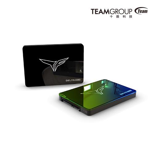 T-FORCE DELTA MAX幻鏡炫彩固態硬碟
