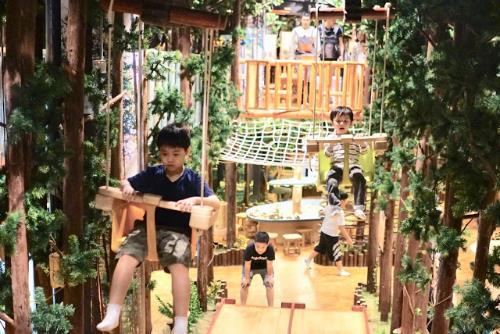   深圳親子遊   大人小孩都能瘋玩的遊戲樂園 -木育森林 奧斯卡媽媽