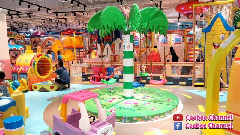 全方位室內遊樂場 PlayEasy輕鬆玩 沙田石門(附視頻)|Ceebee Channel