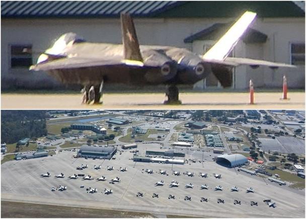 殲20模型現身美軍基地 專家:展示敵機外觀|即時新聞|兩岸|on.cc東網