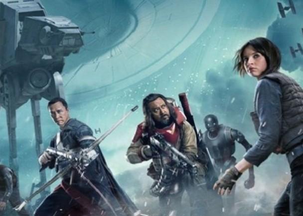 《俠盜一號:星球大戰外傳》奪聖誕期榜首 即時新聞 東網巨星 on.cc東網
