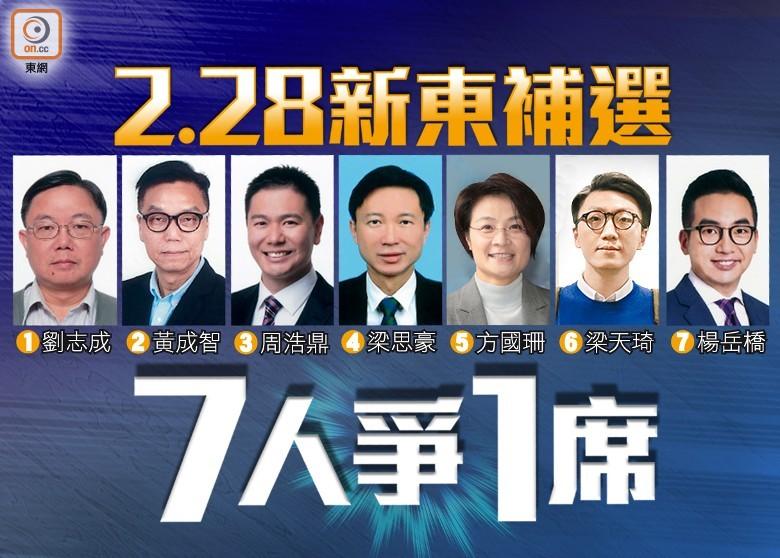 新東補選:94萬選民今日投票 - 東網即時