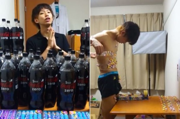 日本少年可樂+萬樂珠泡泡浴網絡爆紅|即時新聞|國際|on.cc東網