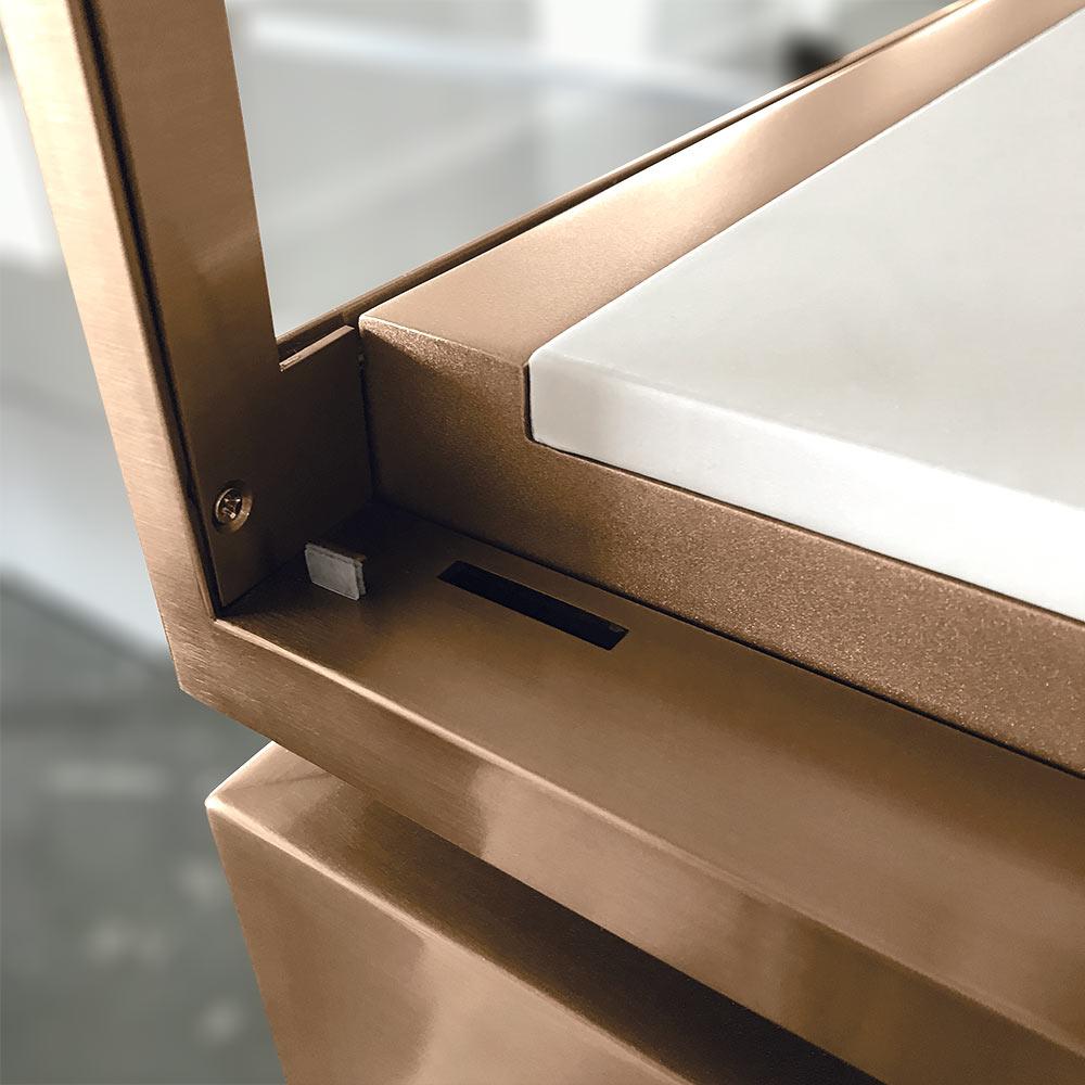 Door Opened with Lock Hole | Besty Display